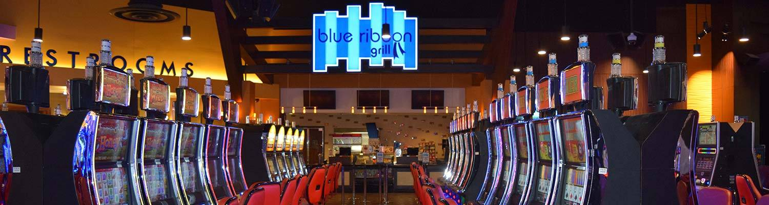 Blue Ribbon Grill, dining on the Hamburg Gaming floor