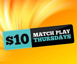 $10 Match Play Thursday at Hamburg Gaming